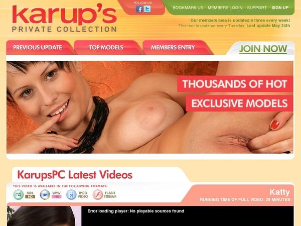 Karups PC Make Account